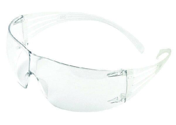 3M 透明舒壓系列安全眼鏡 sf201af 安全眼鏡一副 耐撞 防霧 防粉塵 護目鏡 生存遊戲 工作眼鏡 防護眼鏡 彈性鏡腳