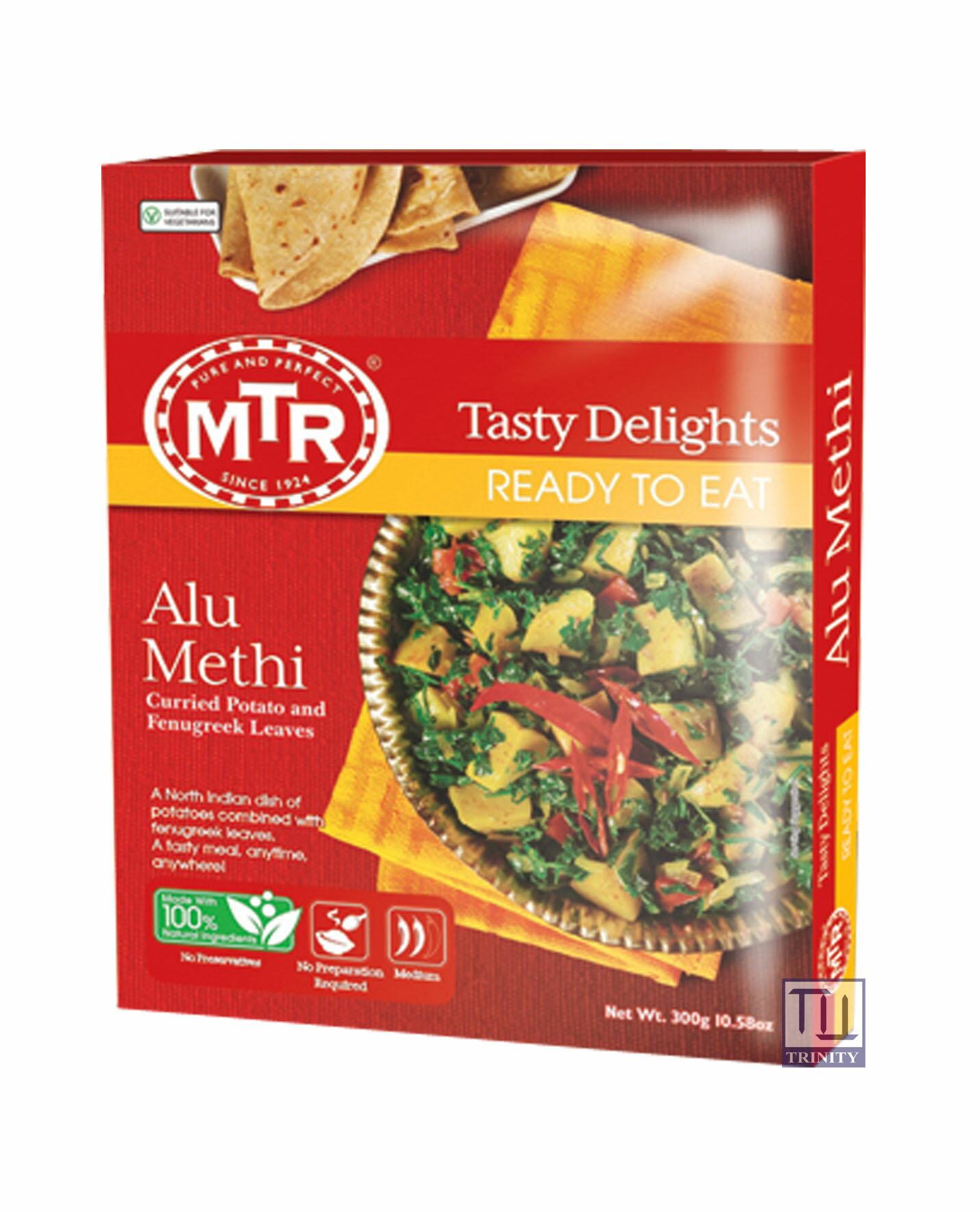 Mtr Alu Methi 印度馬鈴薯+葫蘆巴即食調理包