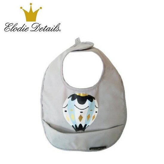 【超低價下殺55折】瑞典【 Elodie Details】北歐精品防水口袋圍兜-熱氣球