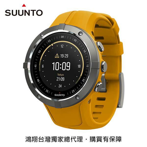 《台南悠活運動家》SUUNTOSpartanTrainerWristHRGPS運動腕錶琥珀色