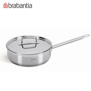 荷蘭BRABANTIA Favourite系列不鏽鋼24公分單把平底鍋  湯鍋