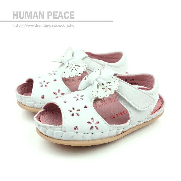 涼鞋 白 小童 no487