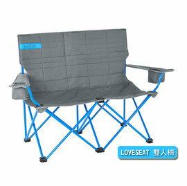 【【蘋果戶外】】KELTY61510516LOVESEAT雙人椅SMOKE(灰)情人椅對對椅摺疊椅摺合椅休閒椅