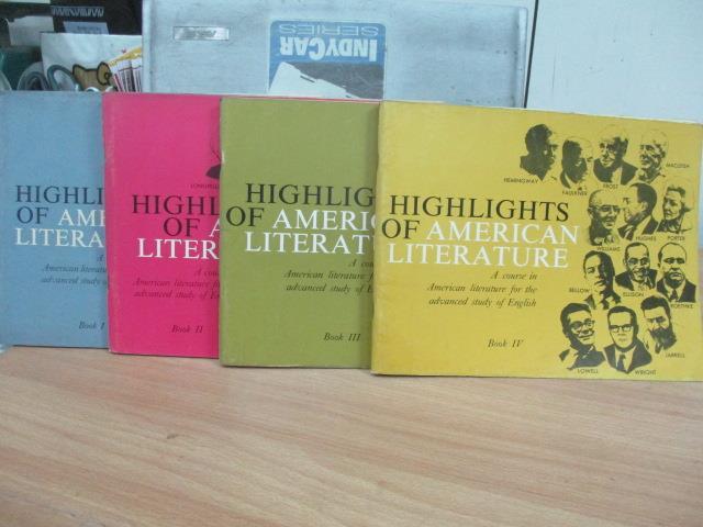 ~書寶 書T7/原文小說_PQD~Highkights of American Liter