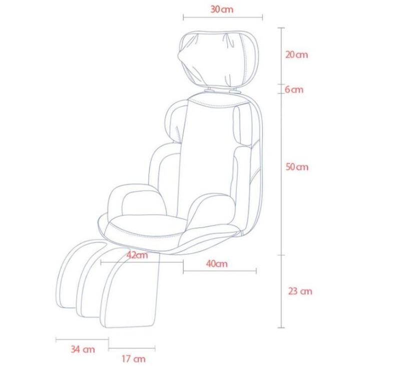 110v電壓本博4d電動按摩椅