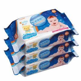 *babygo*康貝Combi 海洋深層水嬰兒柔濕紙巾(80抽*3包)【新包裝】