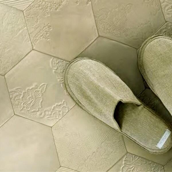 凌形磚紋懷舊家用PVC地板革卷材SHM-1004