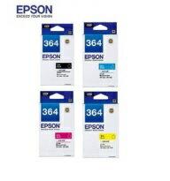 【台灣耗材】EPSON㊣原廠墨水匣T364標準容量原廠墨水匣T3641黑色T3642藍色T3633紅色T3644黃色顏色單顆任選適用EPSON適用型號:XP-245XP245XP-442XP442墨水匣