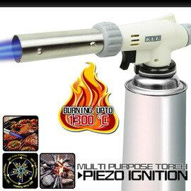 【速捷戶外】【CAMP LAND】RV-AC8805 特級360度噴角噴火槍(壓電式噴火器.卡式瓦斯噴槍.噴燈)