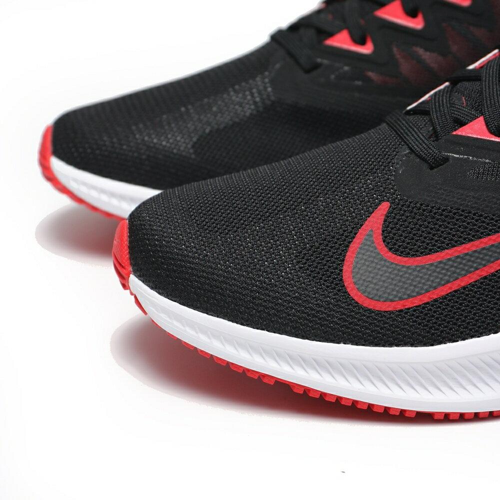 NIKE 慢跑鞋 QUEST3 黑紅白 輕量 透氣 輕量 男 (布魯克林) CD0230-004