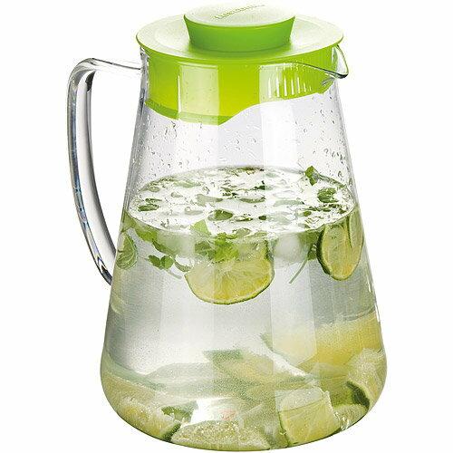 《TESCOMA》Teo單柄耐熱玻璃瓶(綠2.5L)