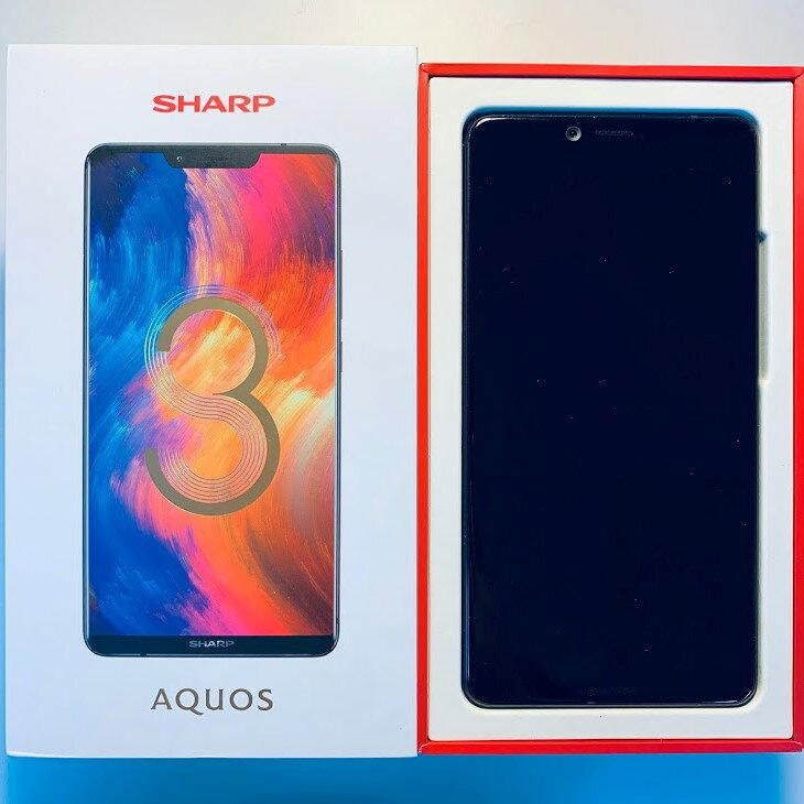 (福利品) SHARP AQUOS S3 4G/64G 6吋 智慧型手機 黑色