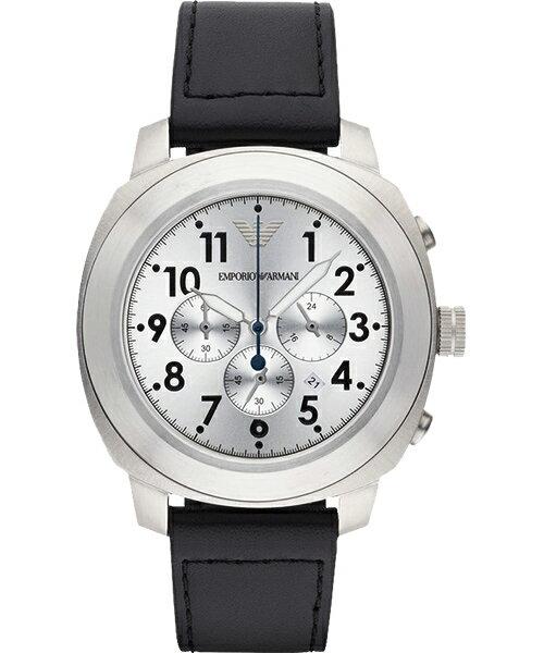 EMPORIO ARMANI/AR6054浩瀚無垠計時腕錶/白面46mm