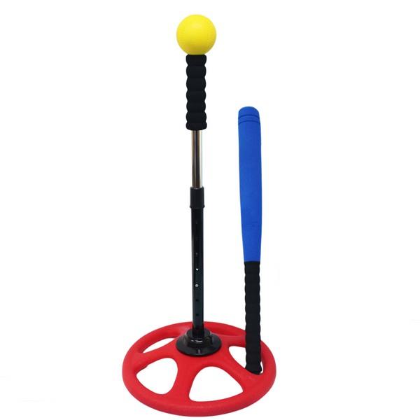 兒童專用 樂樂棒球打擊組 訓練級(大袋裝)/一組入(定499) 樂樂棒球打擊座 安全棒球 棒球練習器 軟式棒球-群DFFB-905