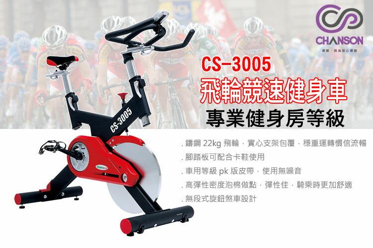 強生chanson-競速飛輪健身車CS-3005