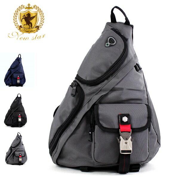 水滴包 運動金屬扣後背包側背包單肩背包 NEW STAR BK17