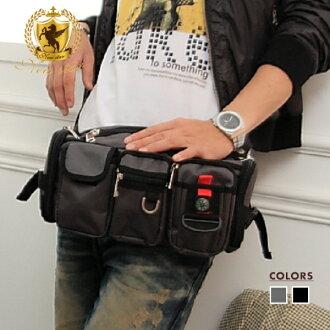 旅游小腰包_腰包 潮流多口袋腰包斜背包 NEW STAR BW01 | NEW STAR - 樂天市場