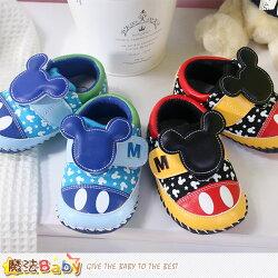 寶寶鞋 米奇授權專櫃正品寶寶外出鞋 魔法Baby~sh7605