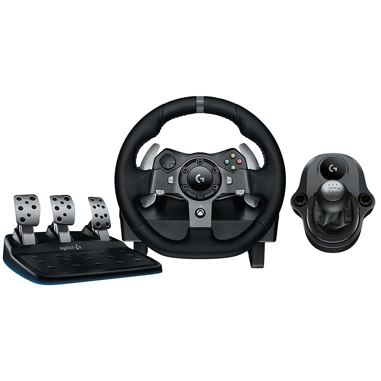 bb6a0834579 Logitech G920 Driving Force Racing Wheel + Logitech G Driving Force Shifter  Bundle 0