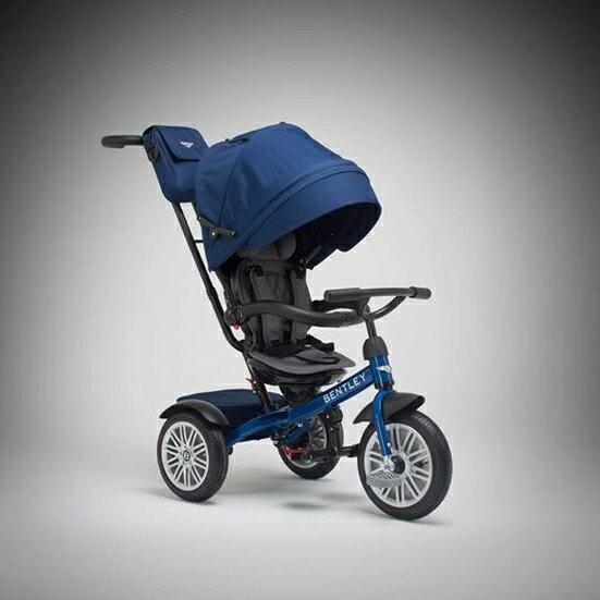 Bentley賓利三輪手推車-皇家藍