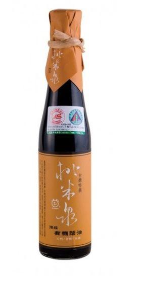 鏡感樂活市集 甘寶 桃米泉 頂級有機蔭油 410ml/ 瓶