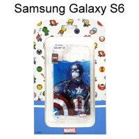美國隊長周邊商品推薦復仇者聯盟海報版透明軟殼 [美國隊長] Samsung G9200 Galaxy S6【正版授權】