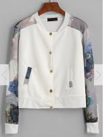 飛行外套推薦到(春暖花開)印花圖騰飛行短版帥氣外套預購七天就在窩克yes99buy樂天分店推薦飛行外套