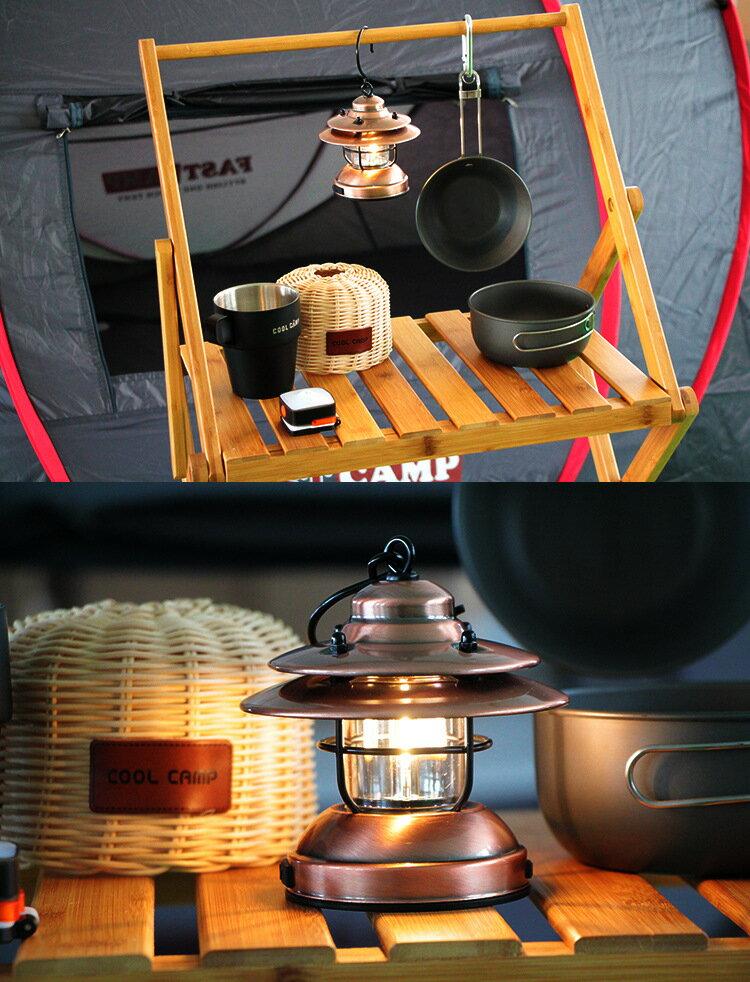 復古露營燈 USB供電 電池供電 氛圍燈 戶外野營燈 便攜帳篷燈 北歐露營燈掛燈手提燈掛燈吊燈復古裝飾馬燈
