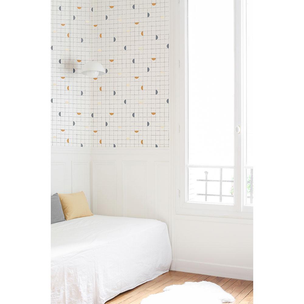 法國壁紙 格子紋圖案  2色可選  Season Paper x Heju合作壁紙 4