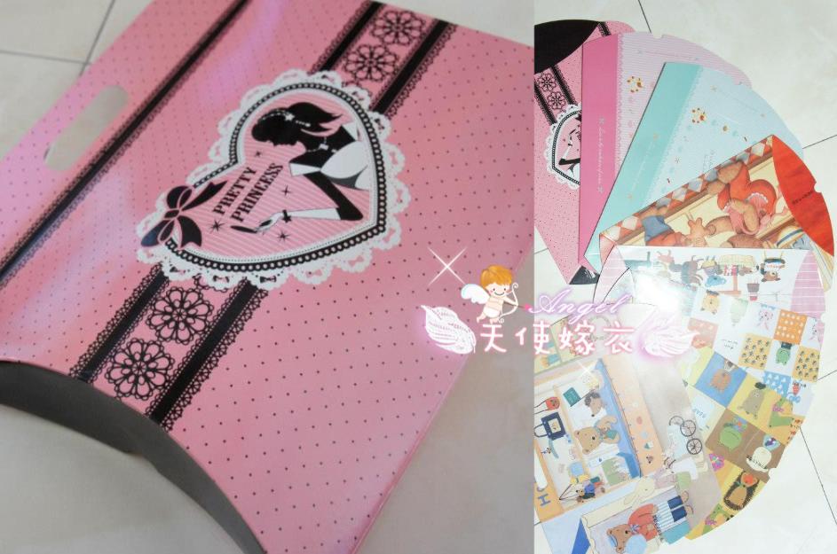天使嫁衣【GPJL101】多款花樣手提式紙盒禮物袋(大)˙現貨特價出清