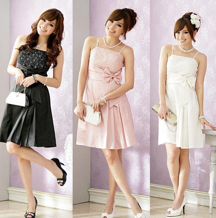 天使嫁衣【J2K8200】3色中大尺碼時尚派對必備色丁洋裝小禮服˙預購訂製款