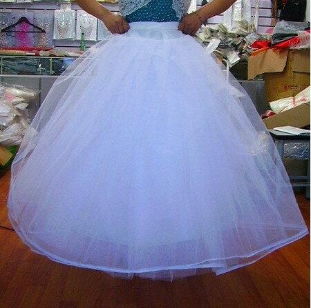 天使嫁衣【PL103】自然澎度四層無骨硬紗禮服裙稱˙下架