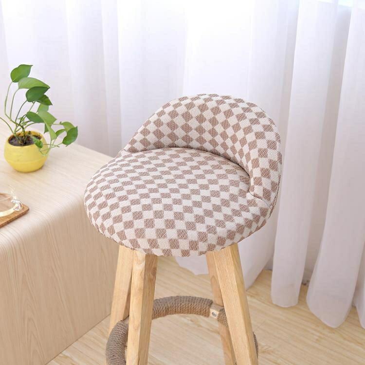 椅套餐椅墊套裝椅套防滑酒店連體椅套椅子套飯店座椅套布藝彈力椅餐桌 凯斯盾數位3C 交換禮物 送禮