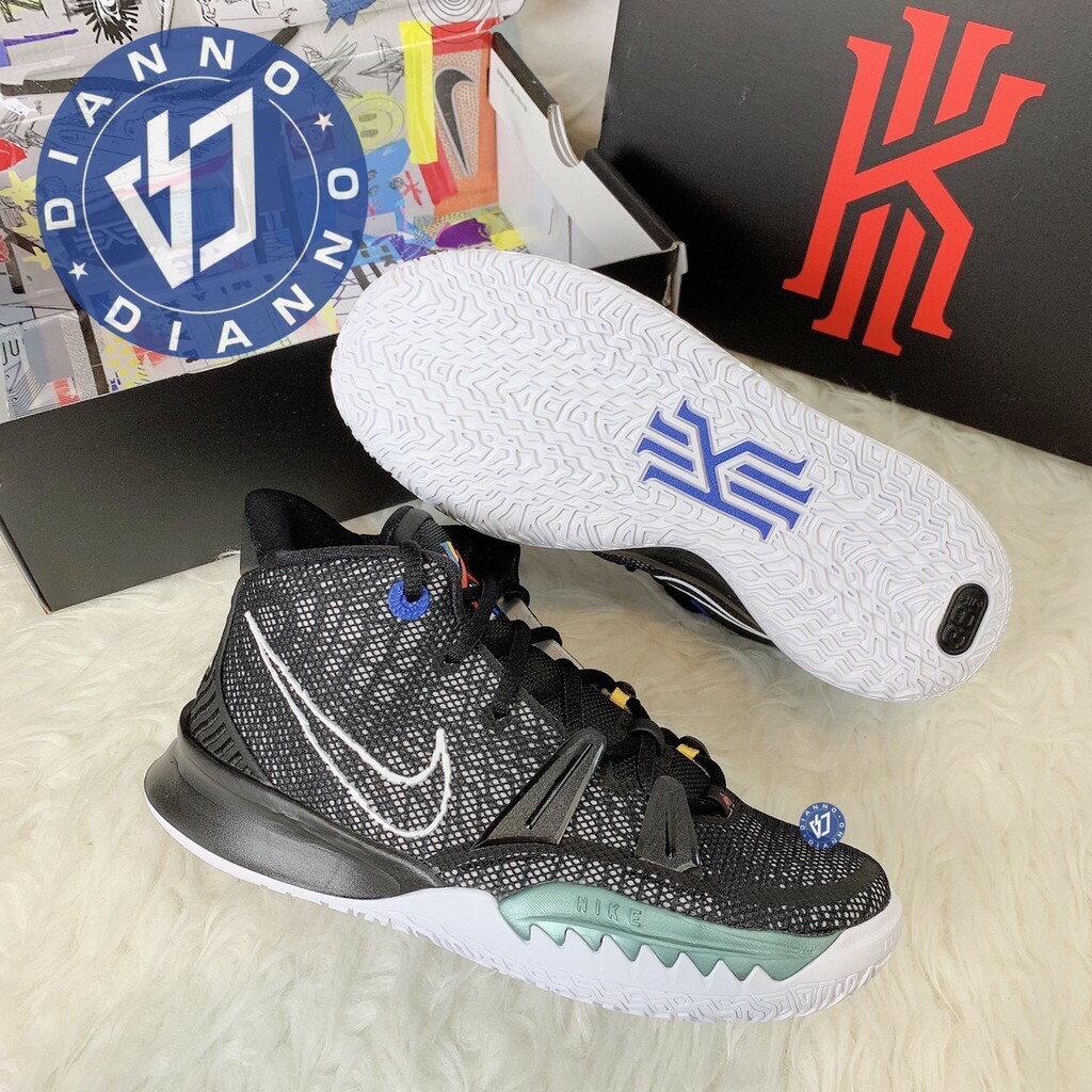 超取$499免運 ▶帝安諾-實體店面 Nike Kyrie 7 女鞋 黑白綠 厄文7 KI7 籃球鞋 運動鞋 CT4080-002