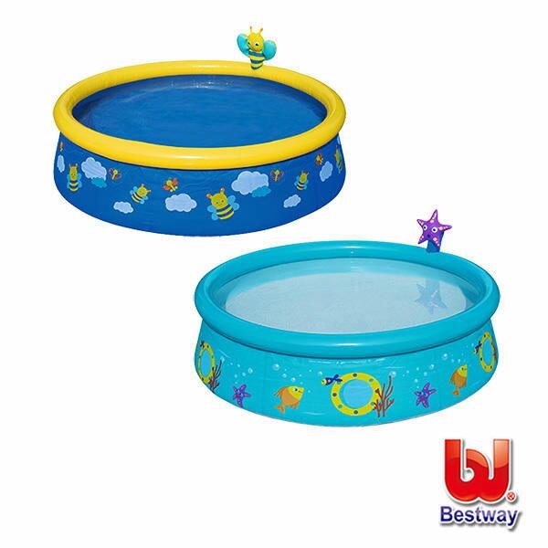 《Bestway》兒童戲水泳池-蜜蜂海星(57326)