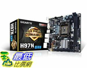 [106美國直購] 主機板 Gigabyte GA-H97N Mini ITX DDR3 1333 LGA 1150 Motherboard