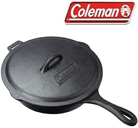 Coleman 經典鑄鐵平底鍋/鑄鐵煎鍋/鑄鐵鍋 CM-21880M000
