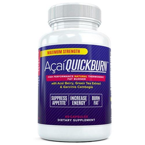 Best Acai Fat Burning Pills Acai Berry Quick Burn Natural Weight Loss Reduction Diet Supplement