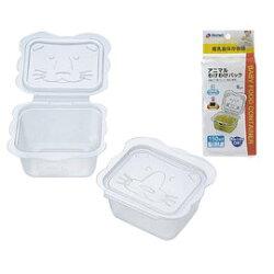 日本 Richell 利其爾 - 卡通型離乳食分裝盒150ml X1組 113元【買6組送一】