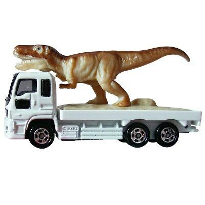 X射線【C359661】Tomica 恐龍搬運車 ,玩具車/ 迴力車/模型/玩具