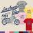 ◆快速出貨◆T恤.情侶裝.班服.MIT台灣製.獨家配對情侶裝.客製化.純棉短T.Los Angeles骷髏車燈摩托車【YC354】可單買.艾咪E舖 0