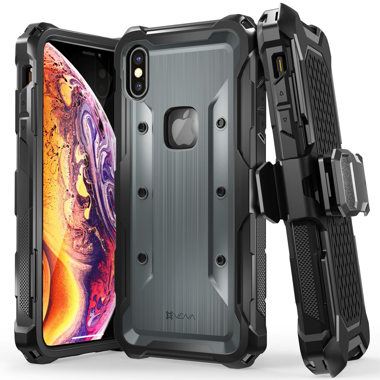 iphone xs max heavy duty case
