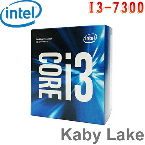 Intel英特爾 Core i3-7300 處理器