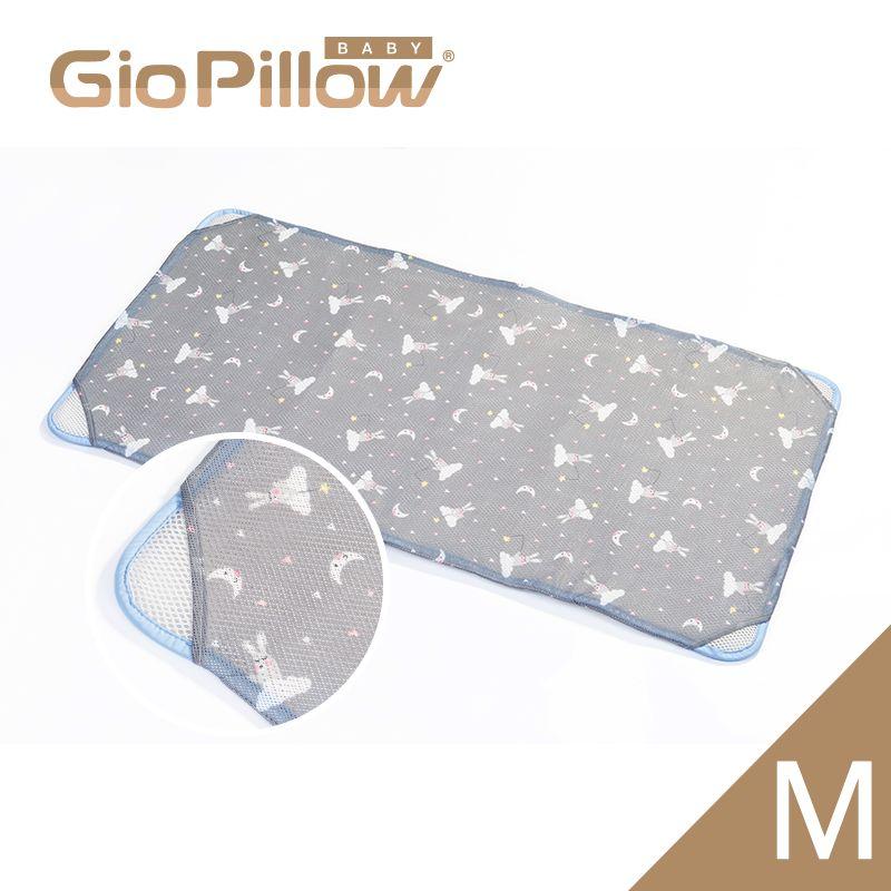 韓國GIO Kid Mat 智慧二合一有機棉超透氣嬰兒床墊(M)晚安兔兔★愛兒麗婦幼用品★