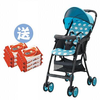 【悅兒樂婦幼用品?】Aprica愛普力卡 Magical air S 超輕量單向嬰幼兒手推車-小綿羊【送濕巾20抽x2】