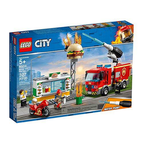 樂高LEGO 60214 City Fire 城市系列 - 漢堡餐廳火災救援 - 限時優惠好康折扣