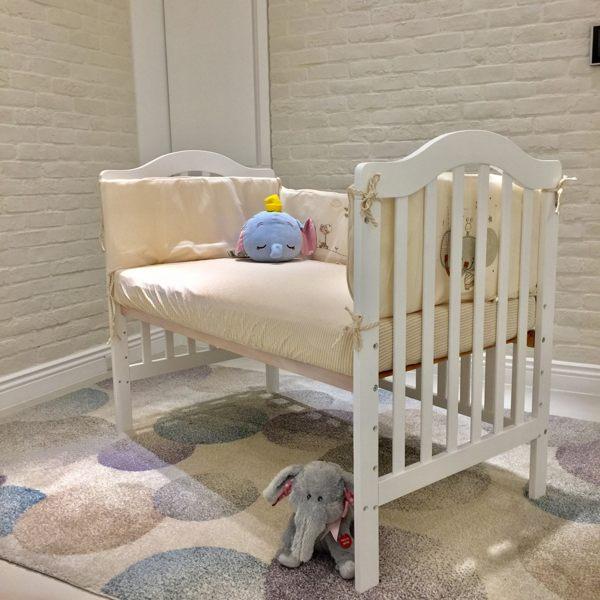 喬依思 La joie Bella 貝拉 嬰兒中床 / 嬰兒床(附床墊)好窩生活節 - 限時優惠好康折扣