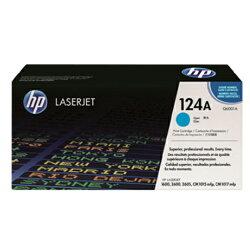 【HP 碳粉匣】Q6001A 124A 原廠藍色碳粉匣