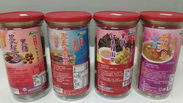 茂格生機 黑糖蔓越莓海燕窩/黑糖桂圓紅棗茶/冰糖珊瑚草/寒天黑糖珊瑚草 450g