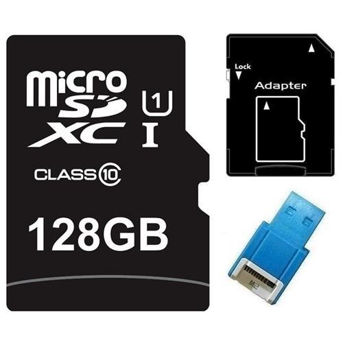 Major OEM 128GB 128G microSDXC UHS-I 70MB/s Class 10 microSD micro SD SDXC C10 Card + USB 2.0 Reader 0